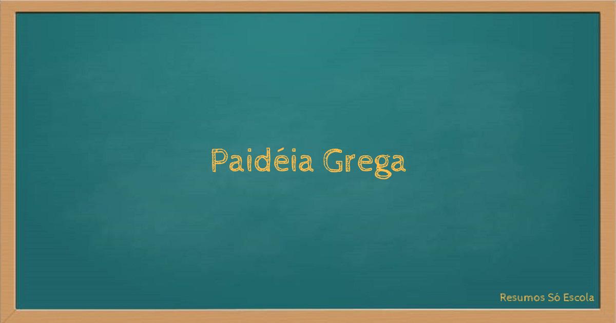 Paidéia Grega