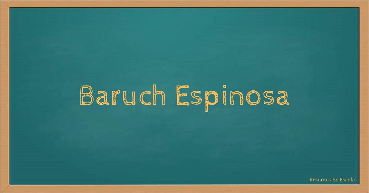 Baruch Espinosa