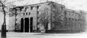 Foto Antiga da Escola de Frankfurt