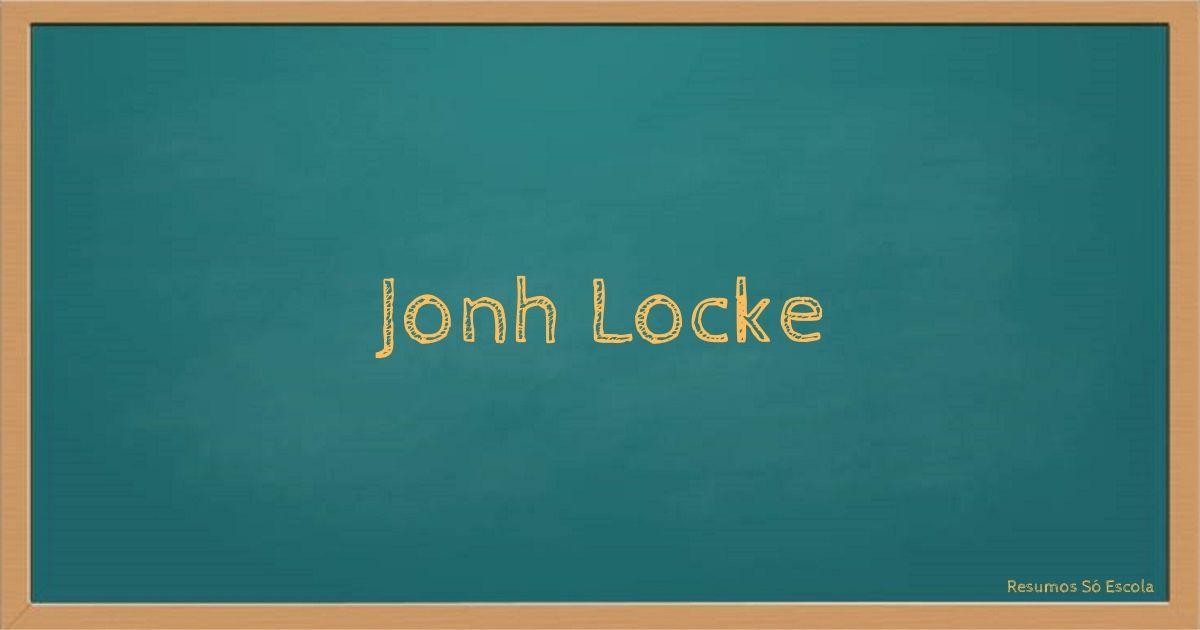 Jonh Locke