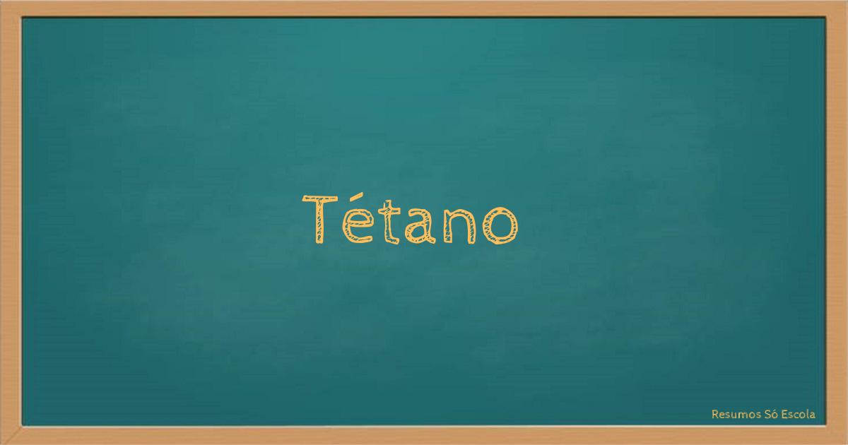 Tétano
